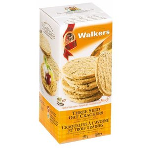 Walker's Shortbread Co. Walkers Three Seed Oat Crackers