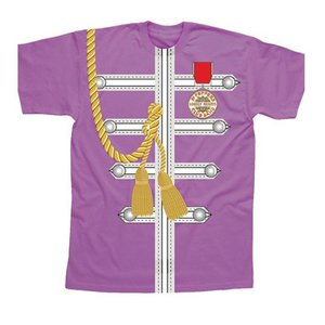 Spike Leissurewear Sgt Pepper Uniform Purple T-Shirt