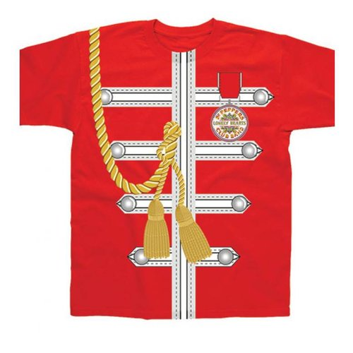 Spike Leissurewear Sgt Pepper Uniform Red T-Shirt