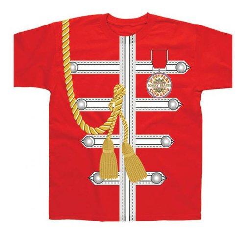 Spike Leissurewear Sgt Pepper Uniform Red T-Shirt