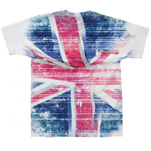Spike Leissurewear Union Jack Sublimation T-Shirt