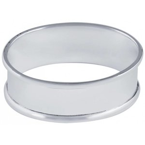 Ari D Norman Sterling Silver Oval Napkin Rings