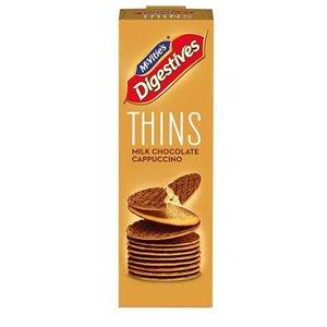 McVitie's McVitie's Digestive Thins Milk Chocolate Cappuccino