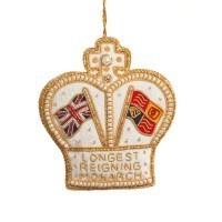 St. Nicolas Longest Reigning Monarch Ornament