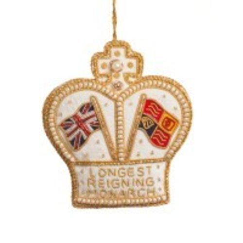 St. Nicolas St. Nicolas Longest Reigning Monarch Ornament