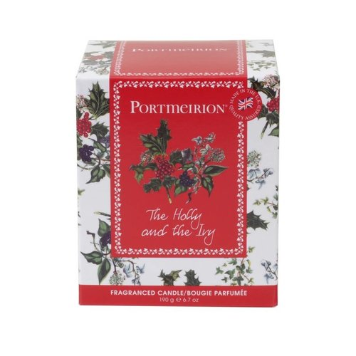 Portmeirion Holly & Ivy Candle
