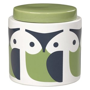 Orla Kiely Orla Kiely 1L Owl Storage Jar