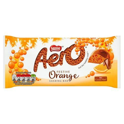 Nestle Nestle Orange Aero Sharing Block
