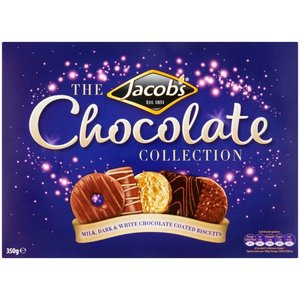 Jacob's Jacobs Chocolate Biscuit Assortment Carton