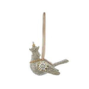 Kurt Adler Kurt Adler Glass Glitter Dove Ornament