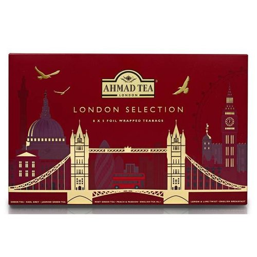 Ahmad Tea Ahmad London Selection Tea Box