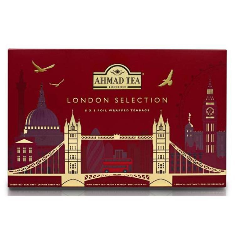 Ahmad Tea Ahmad London Selection Tea Box