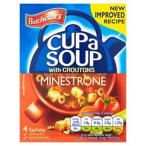 Batchelors Batchelors Cup-A-Soup Minestrone