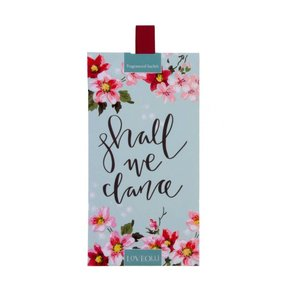 LoveOlli LoveOlli Shall we Dance Scented Sachet