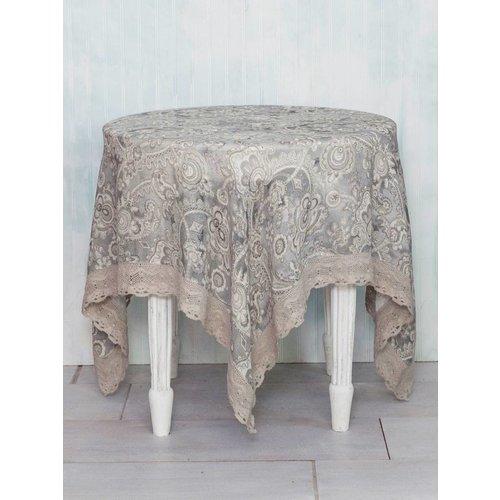 April Cornell April Cornell Queen's Court Linen Tablecloth (54''x 54'')