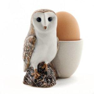 Quail Ceramics Quail Barn Owl Egg Cup