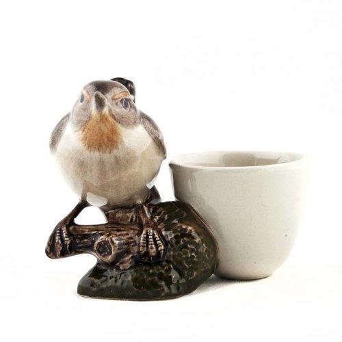 Quail Ceramics Quail Wren Egg Cup