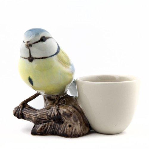 Quail Ceramics Quail Blue Tit Egg Cup