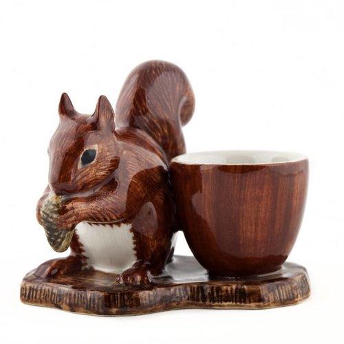 Quail Ceramics Quail Red Squirrel Egg Cup