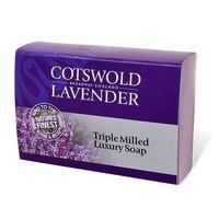 Cotswold Lavender Triple Milled Luxury Lavender Soap 100g
