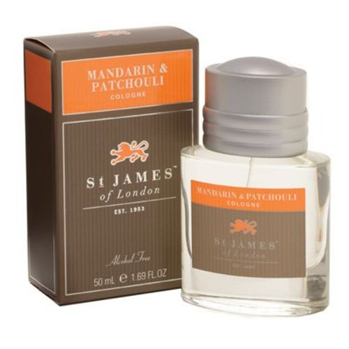 St. James of London St. James Mandarin & Patchouli Cologne