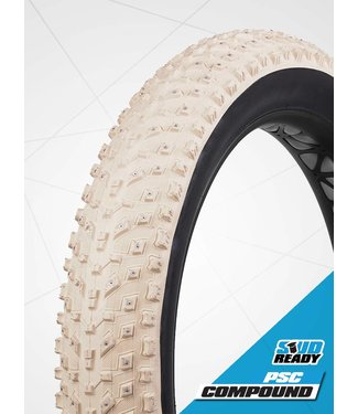 Tire Fatbike 26x4.8 Studded Vee Snow Avalanche - 240 carbide tip studs Tubeless