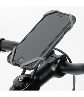 Cell phone holder with handlebar Delta X-Mount Pro