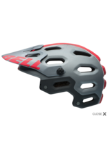 Casque Bell Super 2 - Small - Titane mat / Red