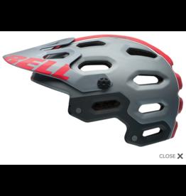 Casque Bell Super 2 - Small - Titane mat / Red