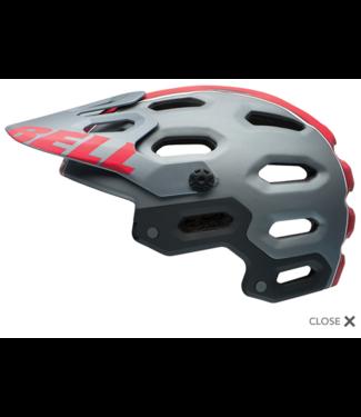 helmet Bell Super 2 - Small - Titane mat / Red