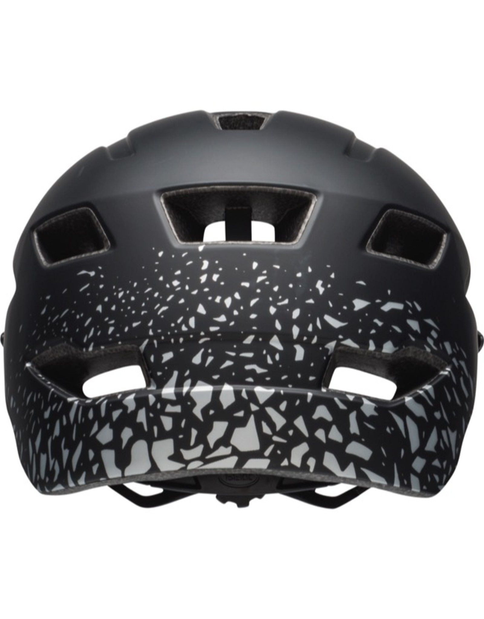 Bell Sidetrack helmet - Matt black and silver - youth size (50-57cm)
