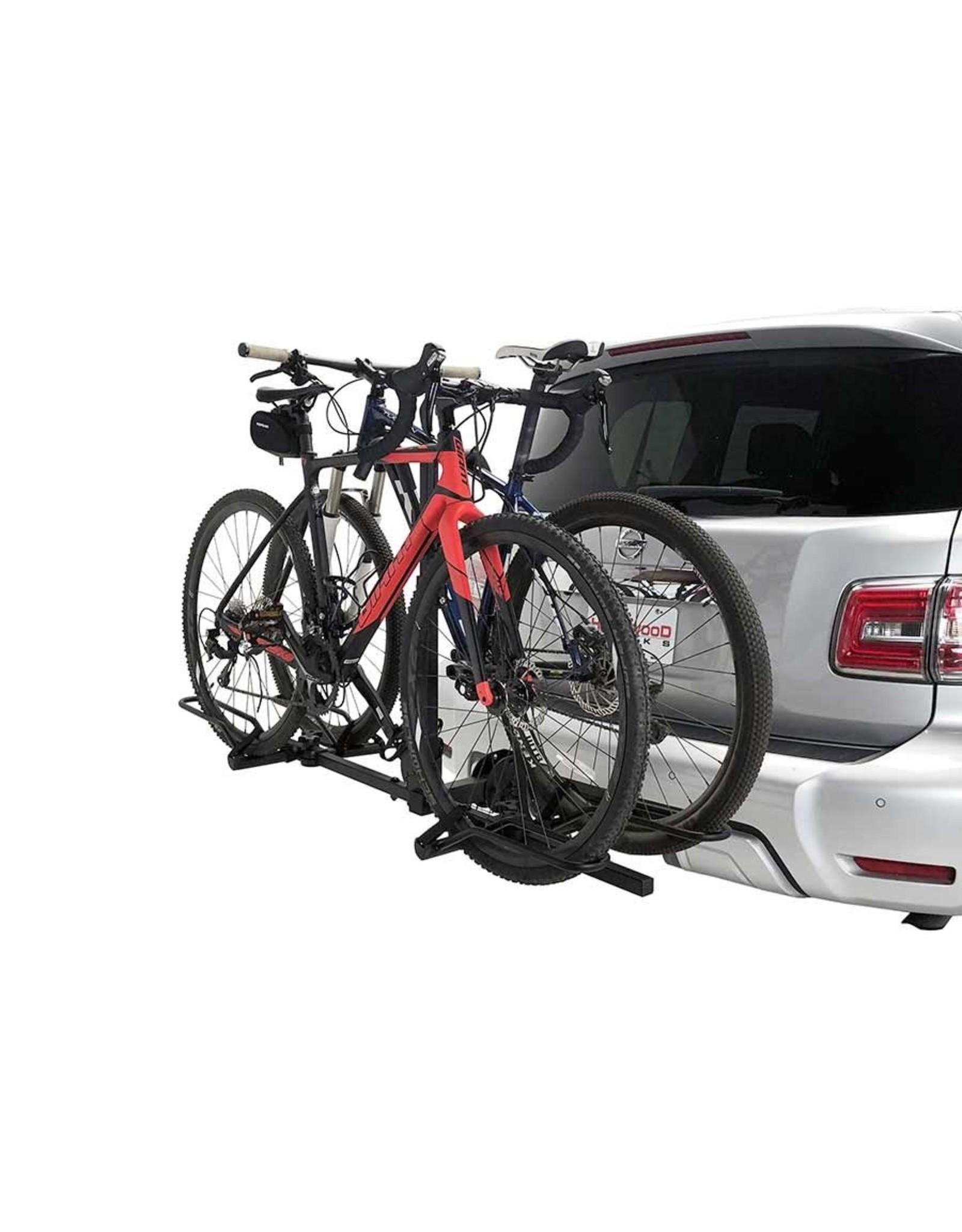 Support a velo Hollywood Sport rider pour att. remorque 1.25 po ou 2 po - Capacite 2 velos