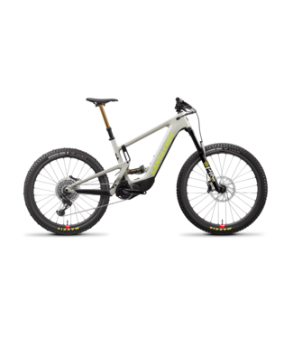 2021 Santa Cruz Heckler - Gris et Jaune (Fog and Yellowjacket) Carbon CC  - XO1 RSV - Roues Mixtes
