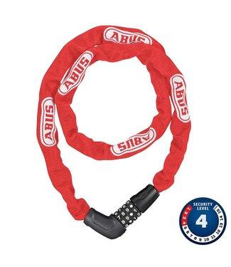 Chaine / cadenas Abus Steel-O-Chain 5805C ( Combinaison ) 5mm x 75cm - Rouge