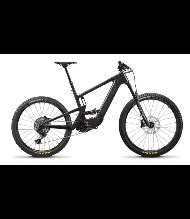 2021 Santa Cruz Heckler 8 - Kit S / Carbon CC / MX  - ( Gloss Carbon and Black ) - Medium