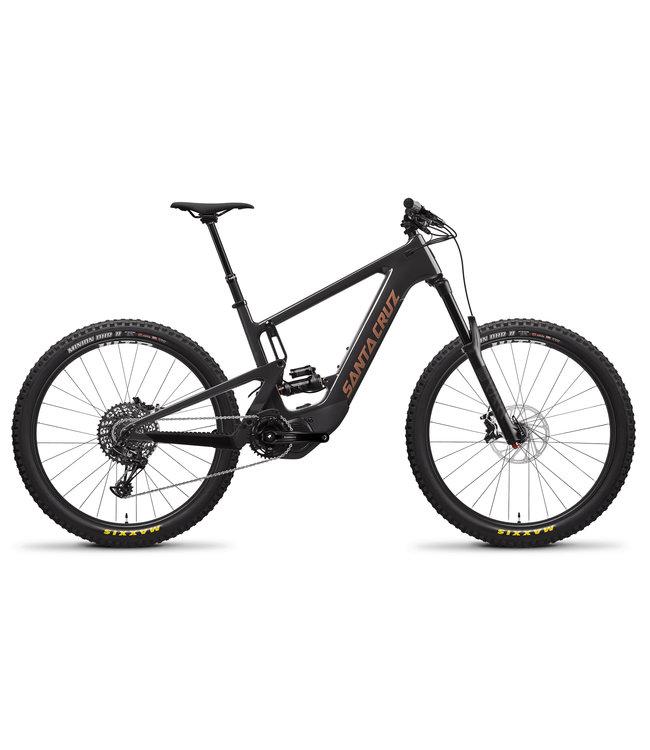 2021 Santa Cruz Heckler 8 - R / Carbon CC / 27.5  - Noir ( Blackout and Copper ) - Large