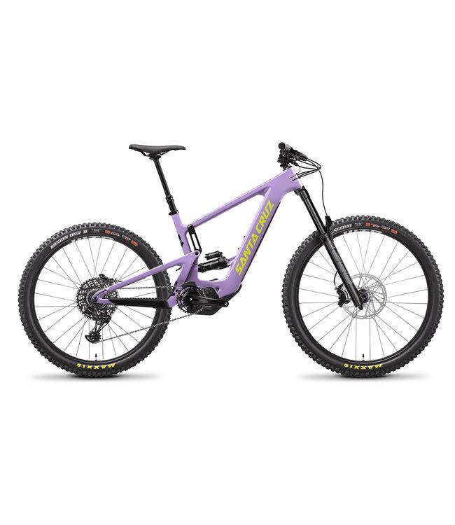 Santa Cruz 2021 Santa Cruz Bullit V.3  -  Carbon CC / MX- R - Gloss Lavender and Yellow - Medium