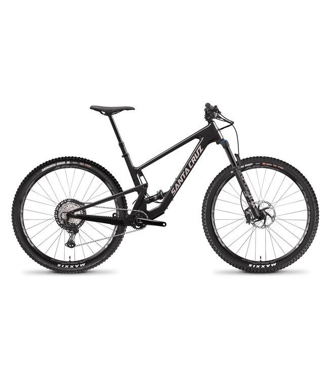 Santa Cruz 2021 Santa Cruz Tallboy v.4 -  Carbon C - Kit XT - Glossy Black and Gypsum - Large