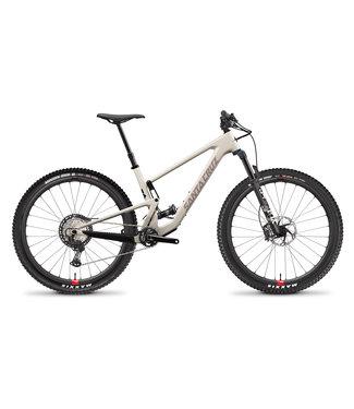 Santa Cruz 2021 Santa Cruz Tallboy v.4 -  Carbon C - Kit XT ( Wheels Reserve carbone ) - Ivory and Gypsum - Large