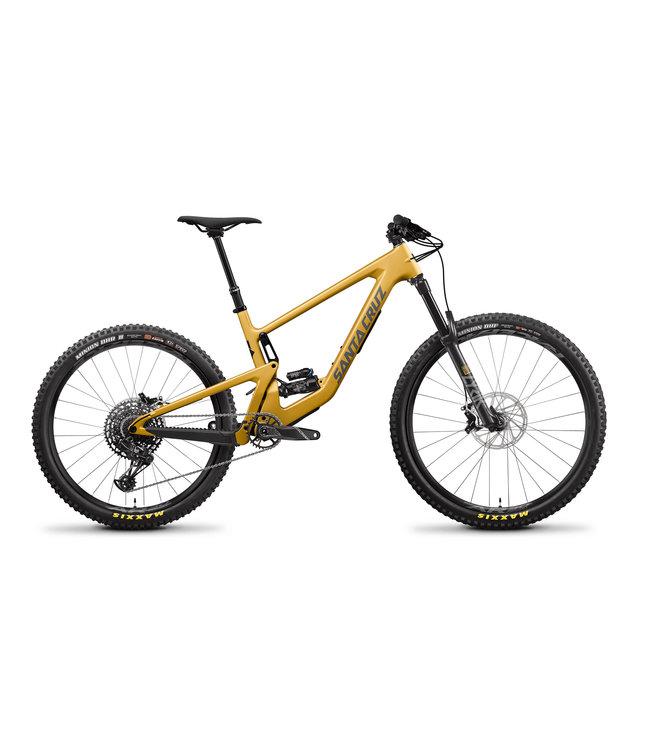 Santa Cruz 2022 Santa Cruz Bronson v.4 -  Carbon C /MX/Kit R  - Gold - Medium