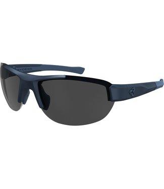 Ryders Crankum Glasses - Matte dark blue (gray lenses)
