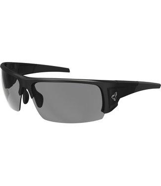 Ryders Caliber glasses - Matt black (pale gray lenses)