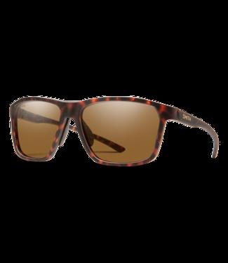 Lunettes de soleil Smith Pinpoint, verres ChromaPop brun polarisé - Matte Tortoise