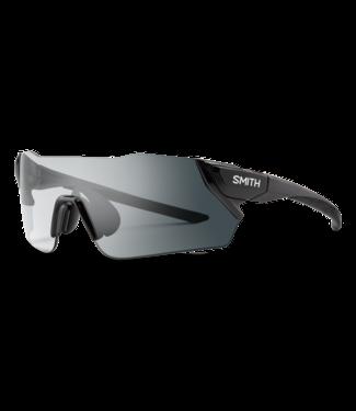 Lunettes de Soleil Smith Attack, lentille Photochromic transparent à gris - Noir