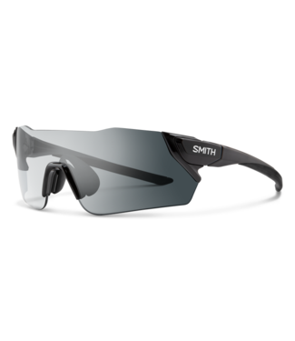 Smith Attack Sunglasses, Clear to Gray Photochromic Lens - Black