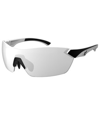 Ryders Nimby glasses - White and black (gray lenses / silver reflection)
