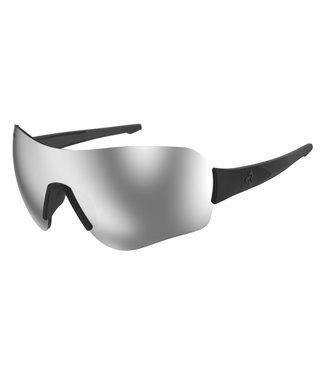 Lunettes Ryders Fitz - Noir mat ( lentilles grises )