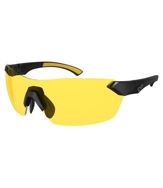 Ryders Nimby glasses - Matte black (yellow lenses)