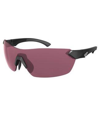 Ryders Nimby Glasses - Black (Pink Anti-Fog lenses)