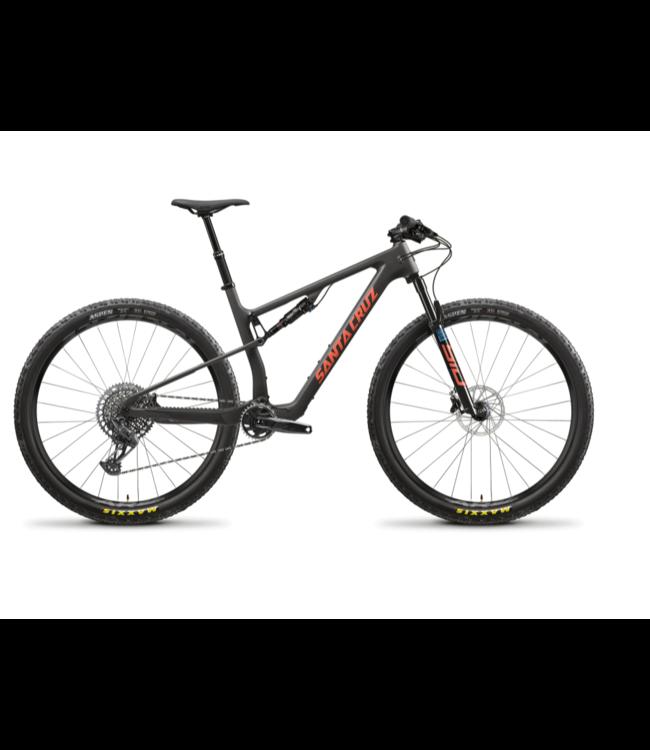 Santa Cruz 2022 Santa Cruz Blur v.4 - Carbon C - Kit S - Black - Medium